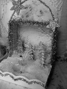 Christmas ballet shrine