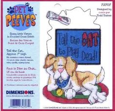Cross Stitch Dog Chart 2 Picture