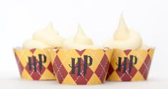 Harry Potter cupcake wrappers.$3
