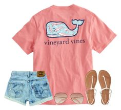 """Day 4: Preppy Casual"" by maggiegrace07 ❤ liked on Polyvore featuring Vineyard Vines, H&M, Aéropostale and adevosummercontest"