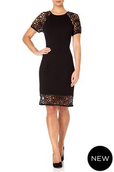 Fall Winter, Autumn, Highlight, Bodice, Teal, Dresses For Work, Glamour, London, Lace