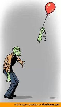 Cosas de zombies.