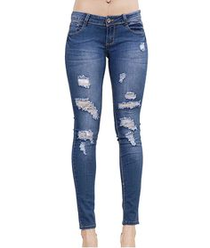 ZQLZ Summer Jeans Woman 2018 New Fashion Ripped Ultra Stretch Stretch Skinny Ture Pencil Pants Women Denim Trousers Mujer Distressed Denim Jeans, Ripped Denim, Denim Pants, Women's Jeans, Jeans Skinny, Womens Ripped Jeans, Mid Rise Skinny Jeans, Plus Size Jeans, Skinny Jeans