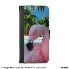 Flamingo iPhone 6/6s Plus Wallet Case