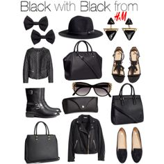 Pretty Updates: Black with Black from H&M
