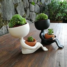 Planters by Estudio Floga - Architecture and Home Decor - Bedroom - Bathroom - Kitchen And Living Room Interior Design Decorating Ideas -