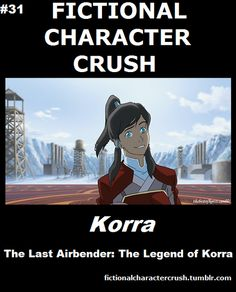 Fictional Character Crush: Korra