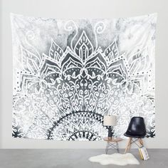MINA MANDALA Wall Tapestry by Nika