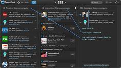 تطبيق تويتر للديسكتوب يطل علينا بتحديث جديد TweetDeck 1.5.3