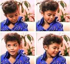 Baby Bruno Mars. Ok, this is like the cutest thing I have ever seen! I love him soooo much! ❤️❤️❤️