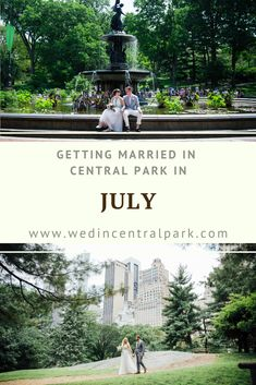 Getting Married in Central Park in July - Summer Wedding in New York City Wedding Advice, Wedding Planning, Wedding Ideas, Destination Wedding, Top Wedding Trends, Wedding Styles, Wedding Locations, Wedding Vendors, Central Park Weddings