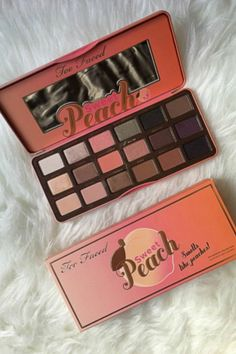 Too Faced Sweet Peach Eye Shadow Collection Palette - makeup products and tips - http://amzn.to/2hvZOXG