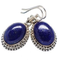 #Awesome 925 Sterling Silver #Handmaded #Lapis #Lazuli #Gemstone #Earring for #Women #We #deals in all types of #jewelry like #Children's Jewelry #Engagement & #Wedding #Ethnic, #Regional & #Tribal, #Fashion #Jewelry #Fine #Jewelry #Handcrafted #Artisan #Jewelry #Jewelry #Design & #Repair #Men's #Jewelry #Vintage & #Antique #Jewelry #Wholesale Lots so please ask us if you have any #enquiry