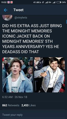 No one gave you permission, okay? One Direction Facts, One Direction Wallpaper, One Direction Pictures, I Love One Direction, Direction Quotes, Louis Tomlinsom, Louis And Harry, Harry Styles, First Love