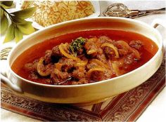 Daoud Bacha Lebanese Cuisine, Lebanese Recipes, Meat Dish, Secret Recipe, Thai Red Curry, Chili, Soup, Dishes, Ethnic Recipes