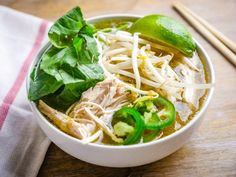 Pressure Cooker Chicken Faux Pho