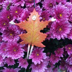 Welcoming fall with open arms #fall https://www.patiencebrewster.com/orange-falling-leaf-ornament/?utm_content=buffer939fe&utm_medium=social&utm_source=pinterest.com&utm_campaign=buffer