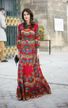 Boho - long dress