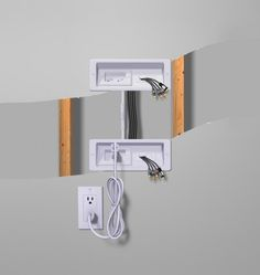 how to hide cords on a wall mounted tv in my own style master rh pinterest com wall mount tv wiring plan wall mount tv wiring solutions