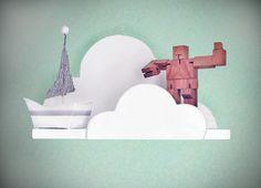 Cloud Wall Shelf Medium by ShopLittles on Etsy, $37.50