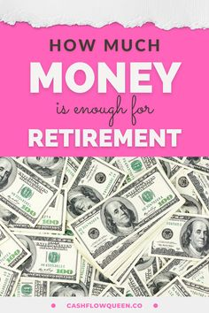 Do you want to know how much money is enough for retirement? Here I discuss how to start investing in real estate and why you should start today with or without money. Here I will share some tips to help beginners and create wealth to save money for your early retirement. Pin and visit my website and grab my blueprint to financial independence and eight steps to becoming a cashflow queen. #moneyhacks #realestateinvesting #makemoney #invest #realestatetips #retirement Early Retirement, Retirement Planning, Financial Planning, Money Saving Challenge, Saving Money, I Got The Job, How To Be A Happy Person, Finance Books, Financial Peace