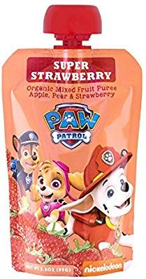 Paw Patrol Party, Paw Patrol Birthday, Birthday Party Menu, 3rd Birthday, Birthday Ideas, Fruit Snacks, Fruit Fruit, Fruit Pouches, Frozen Chicken Nuggets