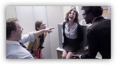 Office flips out over 3D printer in hilarious Funny or Die video