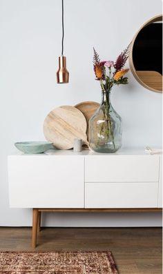 Scandinavian influenced. Clean & elegant.