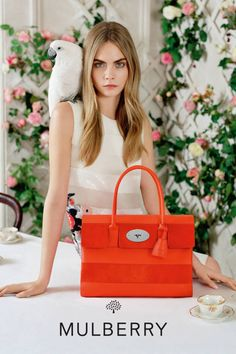 Mulberry's new ad. Check out the best ads for Spring 2014 here!