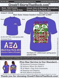 Alpha Xi Delta T-Shirts That Rock 116148