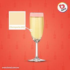 La elegancia del color Champaña en tu hogar ¿En que espacio lo aplicarías? Consulta este color en tu cartilla Berelex. #Color #hogar #Decoracion #DIY