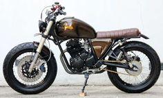 Foto Modifikasi Motor Yamaha Scorpio Klasik