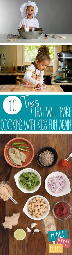 10 Tips That Will Make Cooking With Kids Fun Again