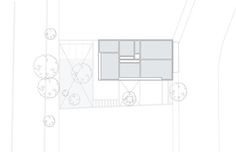 Hill Studio House,Roof Plan