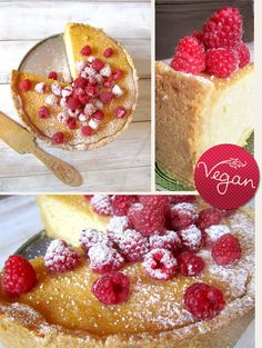 Lybstes. backt: Vegan Käsekuchen Cheesecake