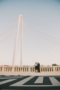 Margaret Hunt Hill Bridge in Dallas, TX  © Stephanie Rose Photography