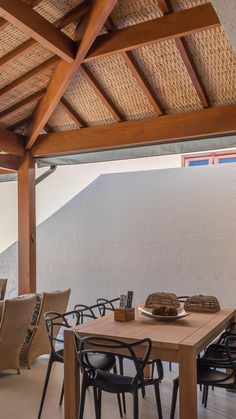 Home Design Decor, Patio Design, Diy Home Decor, House Design, Interior Design, Garden Design, 2 Bedroom House Plans, Beautiful Homes, Outdoor Living