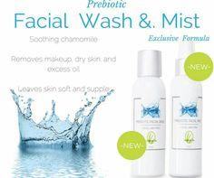 New Prebiotic face wash & face mist from Lemongrass Spa Www.ourlemongrassspa.com/4621