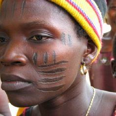 Yoruba Tribal Markings...