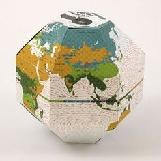 Voyage Foldable Globe Climate, $29, now featured on Fab.