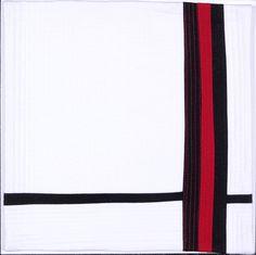 Pathways 3  ©2016 Trisha Findlay cotton fabric and thread, cotton batting 12 x 12 x 1.75 inches