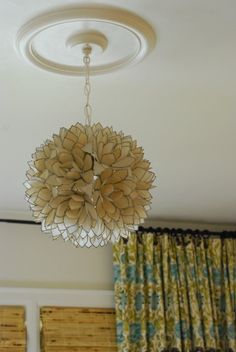 Rambling Renovators: A Bright White Master Bedroom Renovation Flower Chandelier, Pendant Chandelier, Chandelier Bedroom, Light Pendant, Flower Pendant, Chandelier Lighting, Serene Bedroom, Master Bedroom, Master Bath