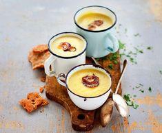 Kremowa zupa z ziemniaków i porów