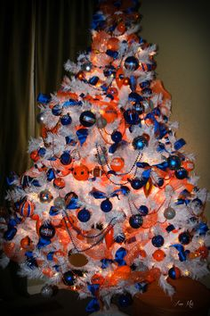 Denver Broncos Christmas Tree Ornaments | Sports and such ...