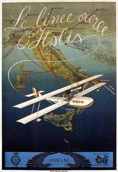 6 sizes, matte+glossy avail Airline Travel Poster Tasman Empire Airways #1