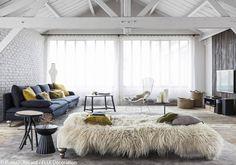 Un salon grand confort