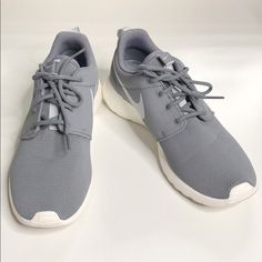 check out 55388 68db5 Nike Shoes   Nike Roshe Ones In Grey And White   Color  Gray White