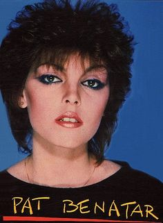 Probably my favorite makeup looks is the and this article shows all the amazing makeup from this decade. Pat Benatar has a Beautiful interesting Smokey eye that grasps the audience to get inspired. 40 Epic Examples of Epic Makeup Pat Benatar, Henna Designs, Glam Rock, Mtv, Rocker Makeup, Heavy Metal, 1980s Makeup, Look 80s, Dark Wave