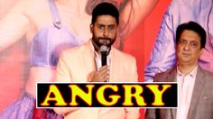 Watch SHOCKING! Abhishek Bachchan Gets ANGRY At Housefull 3 Success Event
