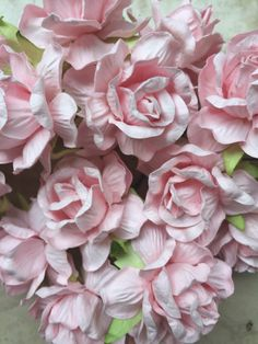100 light pink mulberry roses paper flowers size 25 cm 1 inch 20 pink mulberry roses paper flowers size 18 inch bulk price embellishment scrapbooking by gafeelshop on mightylinksfo